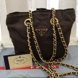 Prada Bags - 🆕 Prada Milano Tessuto chain shoulder bag